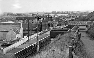 Buckie - Buckie railway station in 1961