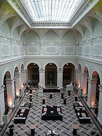Budapest museum hall.JPG