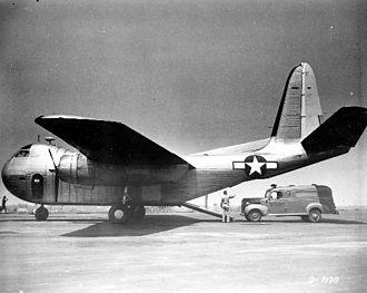 Budd RB Conestoga - A RB-1 demonstrates its loading ramp