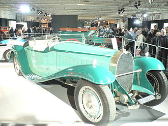 Bugatti Royale - The brothers Schlumpf replica of the Royale Esders Coupe on display at the 2006 Paris Motor Show