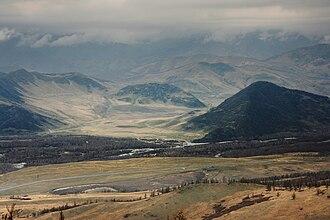 East Kazakhstan Region - Bukhtarma river in East Kazakhstan