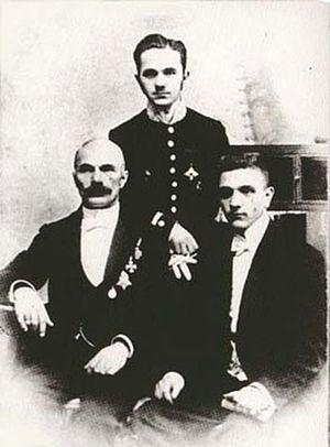 Viktor Bulla - Karl, Alexander and Viktor Bulla