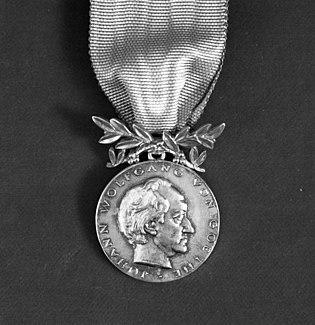 Goethe Medal award