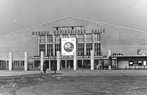 Werner-Seelenbinder-Halle - The Werner-Seelenbinder-Halle prior to the 1951 World Festival of Youth and Students