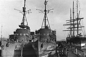 M-class minesweeper (Germany) - Demilitarized M1940s in 1949