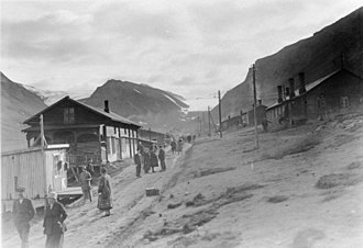 Longyearbyen - Summer 1925 at Longyearbyen.