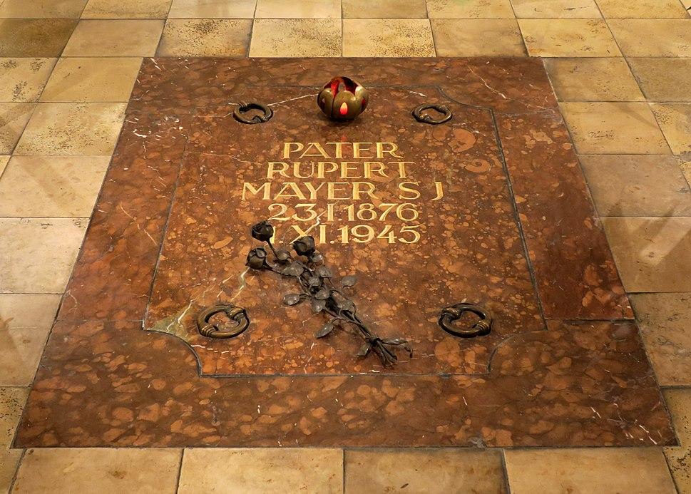 Burgersaalkirche - Grave of Rupert Mayer (Munich, Bavaria)