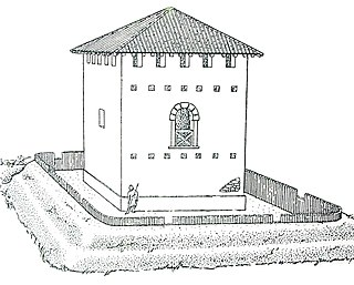 <i>Burgus</i> fortification of late Roman imperial times
