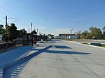 Bus stands at Meadowbrook station, Aug 16.jpg