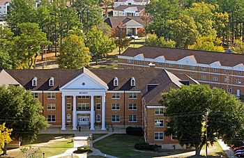 Bussey Hall and other residences, Southern Arkansas University.jpg