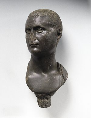 Egypt (Roman province) - Bust of Roman Nobleman, c. 30 BC–50 AD, Brooklyn Museum