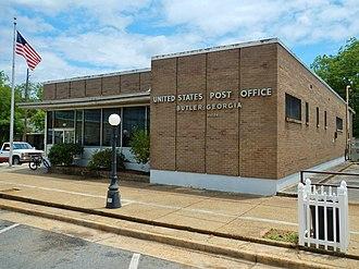 Butler, Georgia - Image: Butler, GA Post Office (31006)