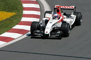 Jenson Button second corner