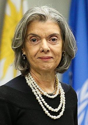 Cármen Lúcia (justice) - Image: Cármen Lúcia em junho de 2017