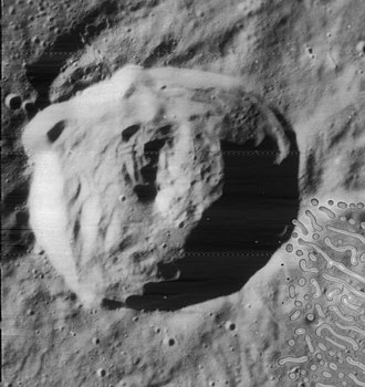 C. Mayer (crater) - View from Lunar Orbiter 4