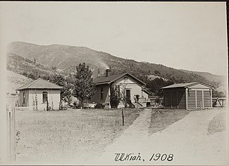 Frank Schlesinger - Ukiah Latitude Observatory and house where Schlesinger worked and lived
