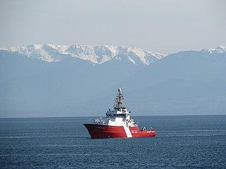 Canadian Coast Guard Ship - Image: CCGS Gordon Reid off Ross Bay