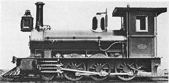 CGR 1st Class 2-6-0 1876 BP - Image: CGR 1st Class 2 6 0 1876 BP