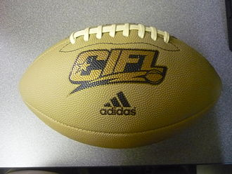 Continental Indoor Football League - The CIFL's 2010 game ball