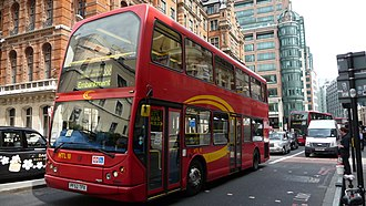 HCT Group - East Lancs Myllennium Lolyne bodied Dennis Trident 2 on route 388 in June 2009