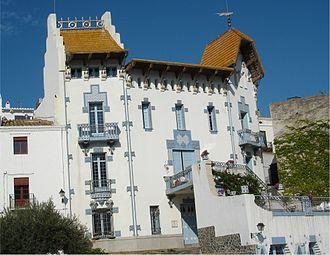Cadaqués - Cadaqués' Blue House (Casa Blava).