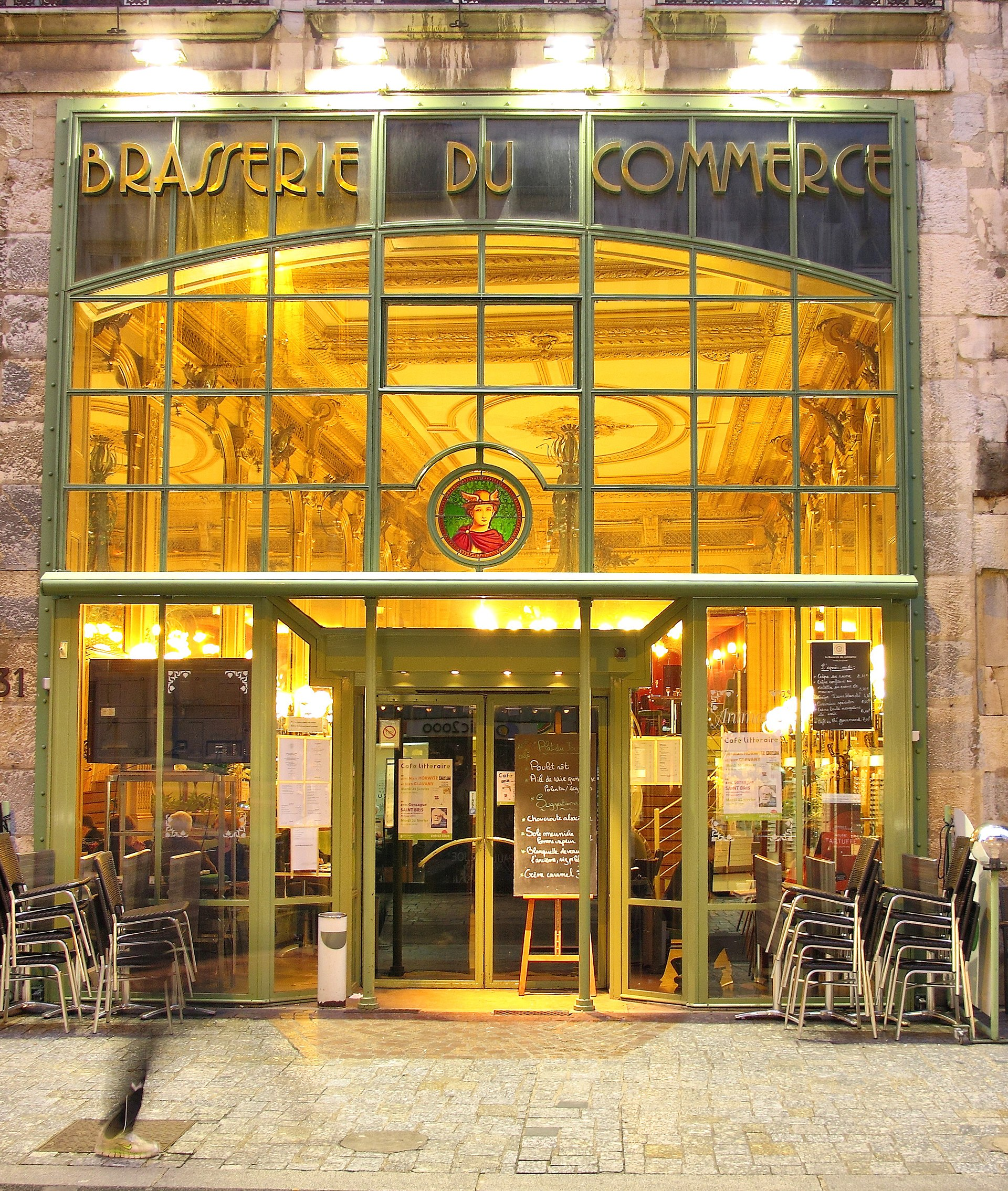 Restaurant Le Caf Ef Bf Bd Du Commerce Paris