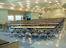 The Miami Beach Senior High Gym The School Cafeteria