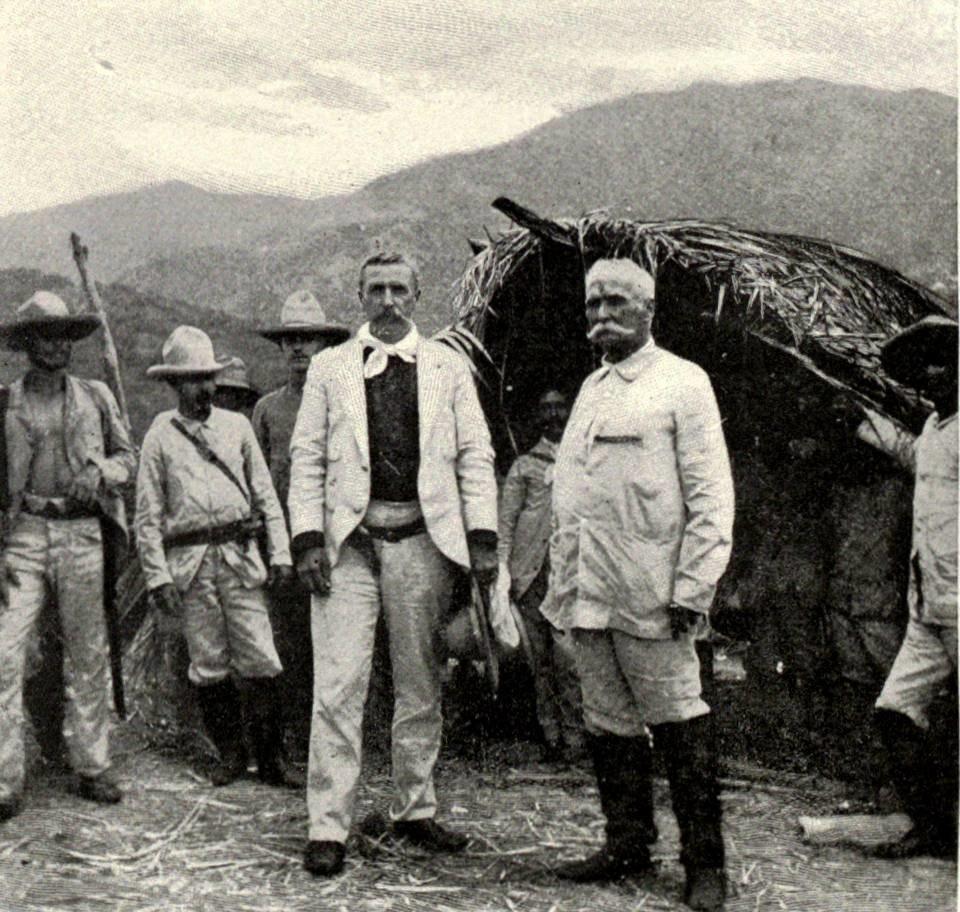 Calixto Garc%C3%ADa and William Ludlow in Cuba, 1898