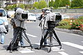 Cameramen and professional video cameras - 37th G8 summit in Deauville 021.jpg