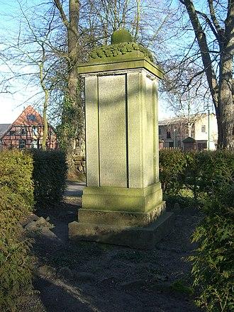 Cammin, Rostock - Image: Cammin (Rostock) Kriegerdenkmal 1914 18