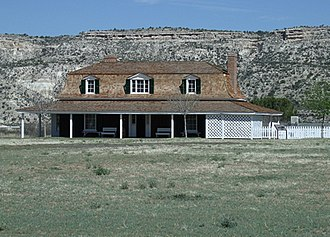Camp Verde, Arizona - Image: Camp Verde Fort Camp Verde Commanding Officer Quarters 1871 XX