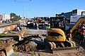 Canberra Light Rail construction in Harrison.jpg