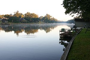 Cane River Lake - Cane River Lake in Natchitoches, Louisiana
