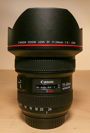 Canon EF 11–24mm lens - Image: Canon 11 24mm