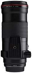 Canon EF 180mm f3.5L Macro USM back horizontal with tripod ring.jpg