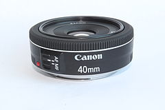 Canon EF 40mm STM lens (very clean).JPG