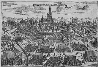 War of the Reunions - Capture of Strasbourg.