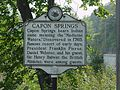 Capon Springs Historical Marker Capon Lake WV 2004.jpg