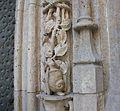 Caragol a la portalada posterior de la Llotja de la Seda, València.jpg