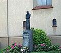 Cardinal Adam Sapieha monument, Franciszkanska street, Old Town, Krakow, Poland.jpg