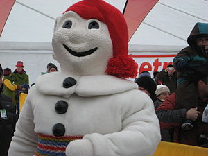 Quebec Winter Carnival - Bonhomme Carnaval in 2011