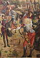 Carpaccio, storie di s.orsola 08, Martirio dei pellegrini e funerali di sant'Orsola, 1493, 13.JPG