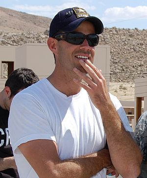 Carson Daly - Daly at Fort Irwin Military Reservation in May 2009