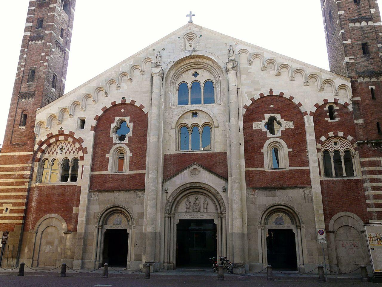 File Casale Monferrato Duomo Facciata1 Jpg Wikimedia Commons
