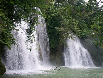 Tamasopo - Two cascades in Tamasopo.
