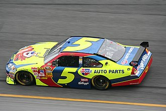 Hendrick Motorsports - 2008 No. 5 Kellogg's / Carquest-sponsored Chevrolet, driven by Casey Mears.