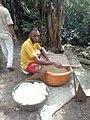 Cassava flakes production.jpg