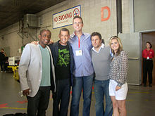 Cast of Psych at Comic-Con 2009.jpg