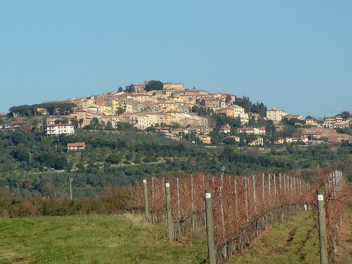 Castagneto Carducci - Wikipedia