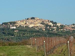 Castagneto Carducci - Panorama of Castagneto Carducci
